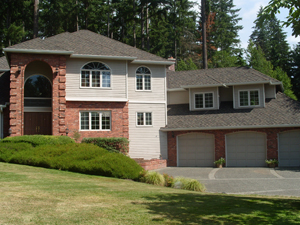 image of home with new roof in bellevue
